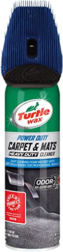 Turtle Wax T-244R1 Power Out! Carpet and Mats Cleaner and OdorEliminator - 18 oz