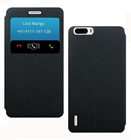 newest aa763 8106d SmartLike Vivo Y55L 1603 Window Leather Flip Cover for: Amazon.in ...