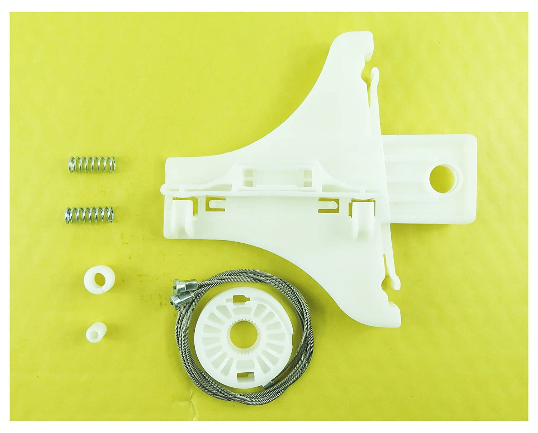 Para VW Passat Kit De Reparación Regulador de Ventana Trasero Izquierdo