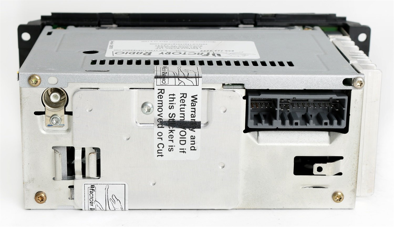 Dodge Neon 2002-05 Radio AMFM CD Player Upgraded w Aux Input - RBK - Slider  Ver