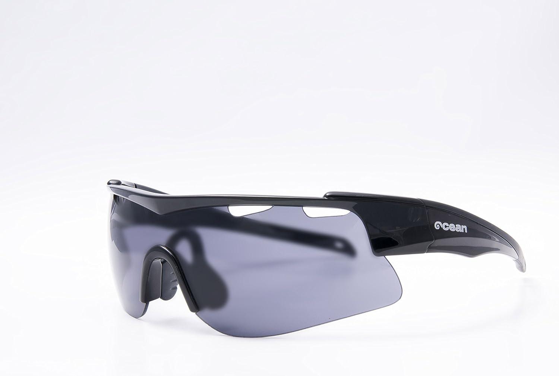 OCEAN SUNGLASSES Alpine - lunettes de soleil - Monture : Noir LaquÃBlackroll - Verres : FumÃBlackrolle (93000.5) nEeJt