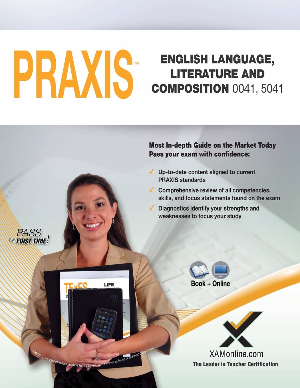 Buy Praxis English Language, Literature and Composition 0041, 5041 Book and  Online Book Online at Low Prices in India | Praxis English Language, ...