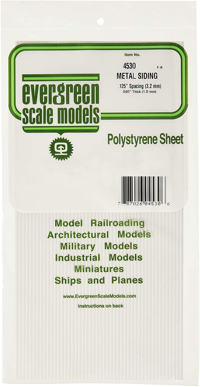 1/Piece,1.0 mm Thick 1/x 150/x 300/mm Evergreen Corrugated Iron Sheet