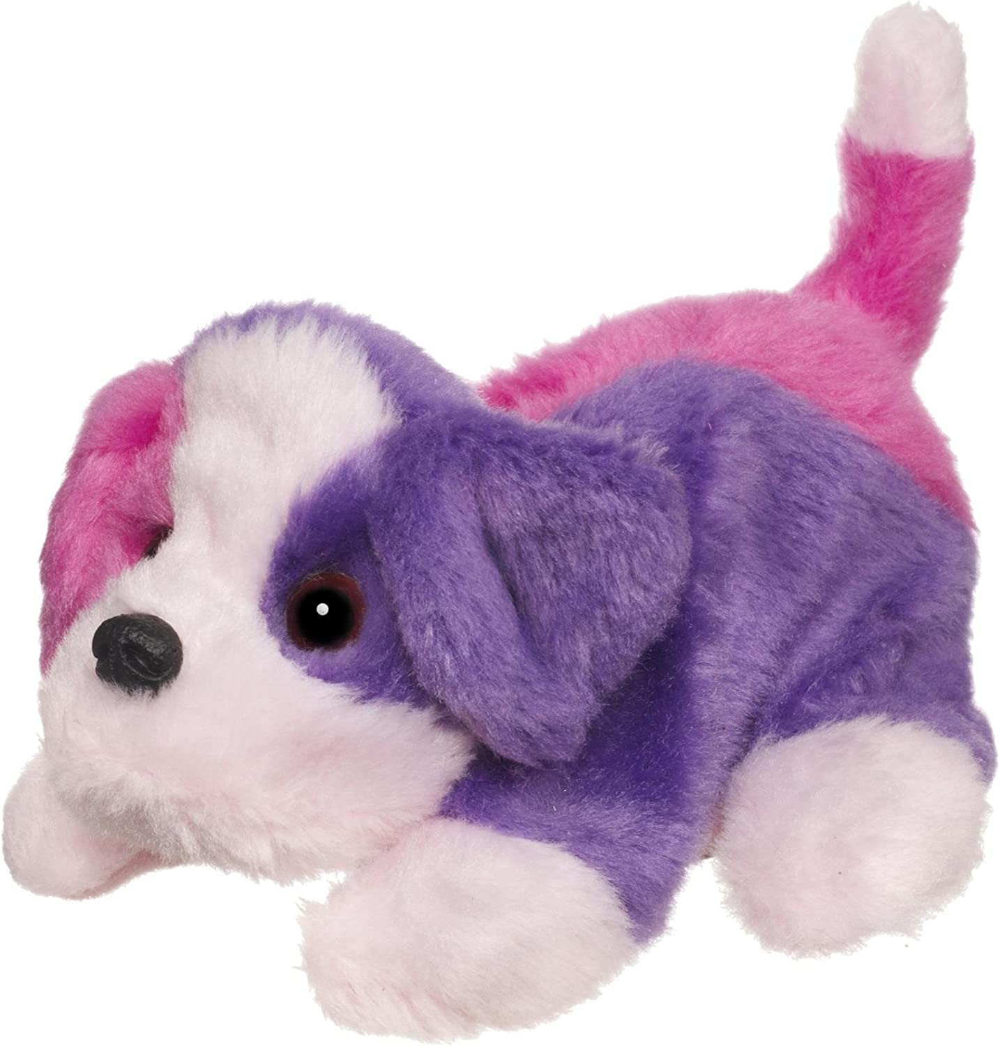 Amazon Com Furreal Friends Snuggimals Pink And Purple Dog Toys Games