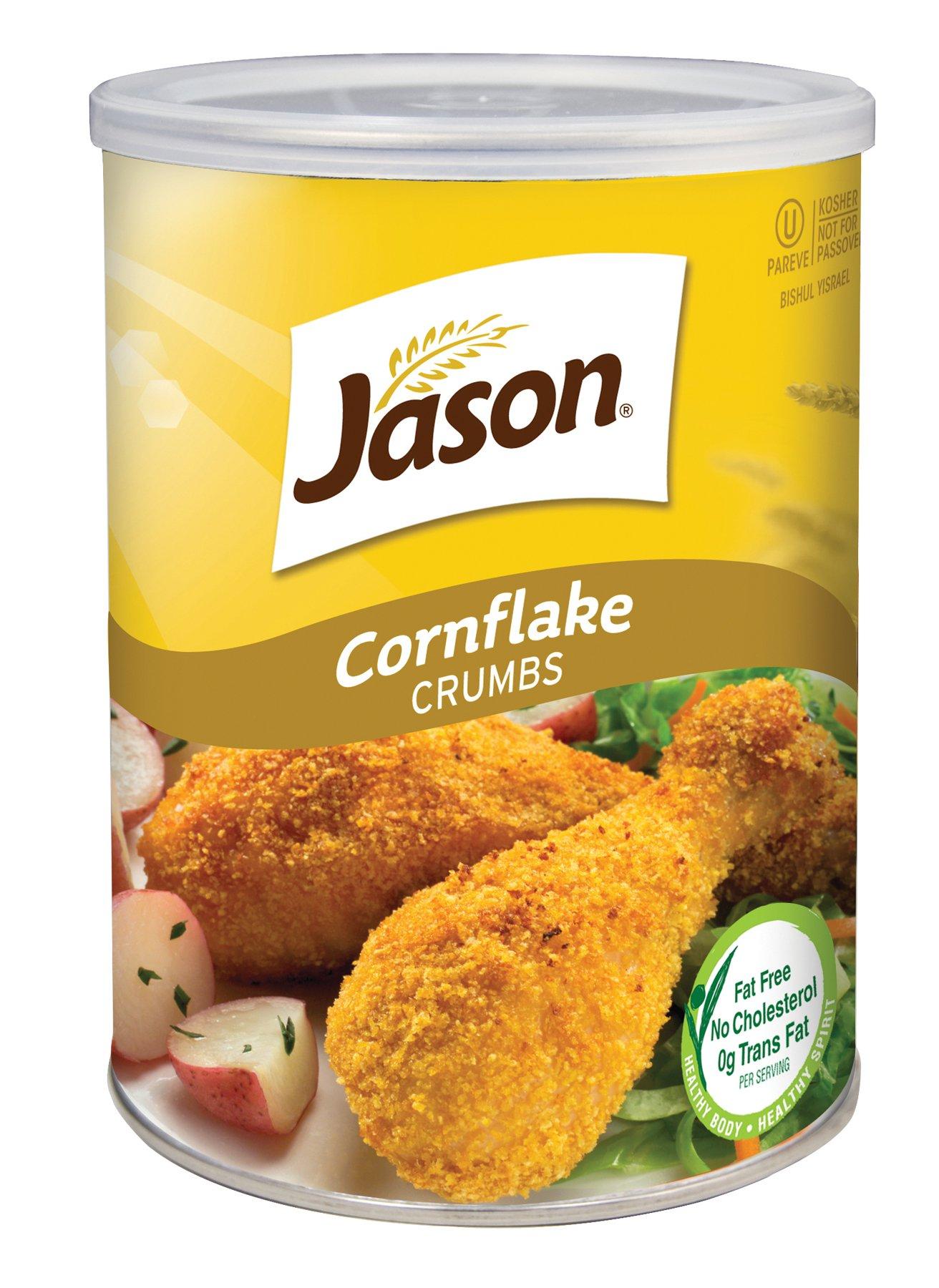 Jason Plain Corn Flake Crumbs, 12 Ounce