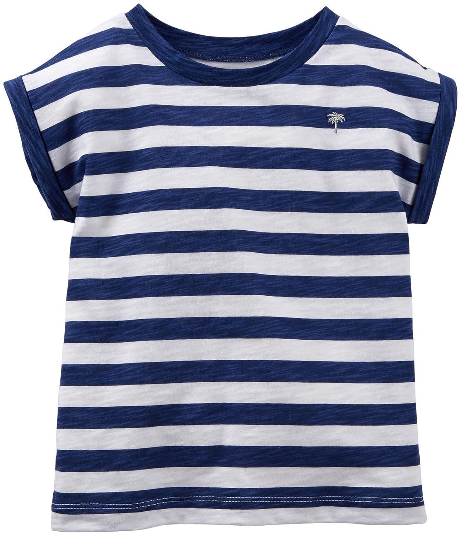 Carter's Little Girls' Striped Tee (Toddler/Kid) Carter's 1180679Littleunisex-child