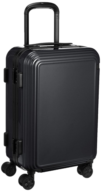 [エース] スーツケース リップルF キャスターストッパー付 機内持込可 32L 47cm 3.7kg 05551 B01BUOR5U2 ブラック ブラック