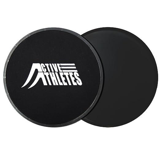 2 opinioni per Active Athletes ab Slide Gliding dischi–2Esercizio Alianti per esercizi di