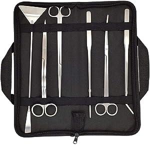 Bornfeel aquascaping tools 7 in 1 kit