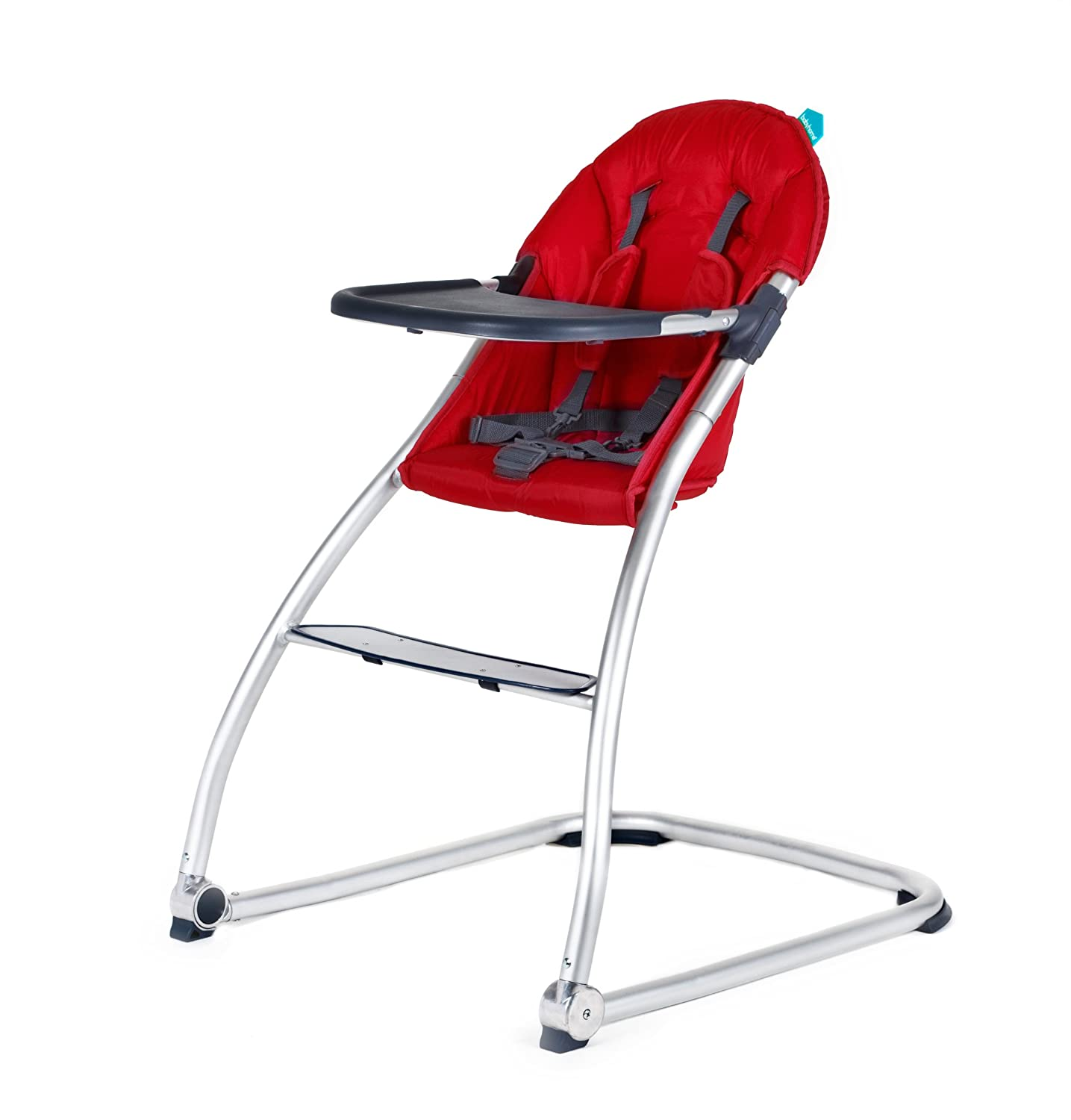 Amazon BabyHome Eat Highchair Red Childrens Highchairs
