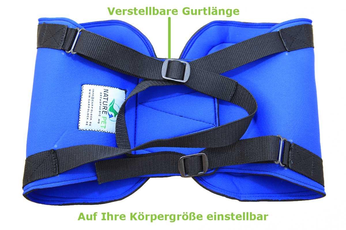Pfaff Medical Dog Rear Carrier / Lifting Harness Blue (XL Blue)