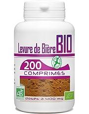 Levure de Bière Bio - 400mg - 200 Comprimés