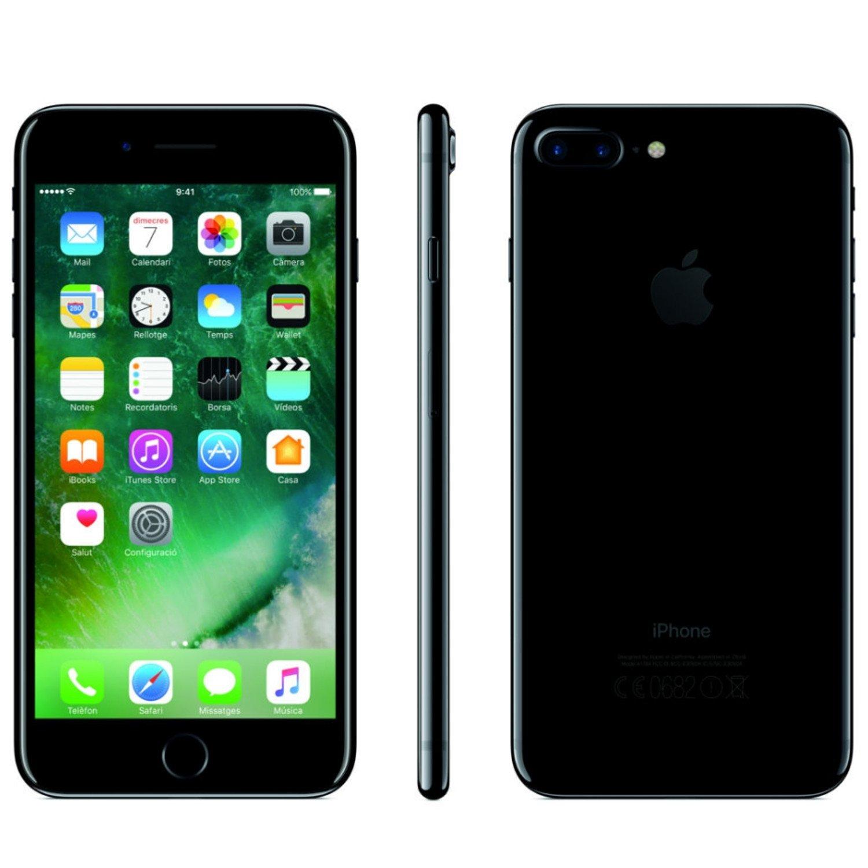 """Apple iPhone 7 smartphones 11 9 cm 4 7"""" 32 GB 12 MP iOS 10 Jet Black Amazon Elettronica"""