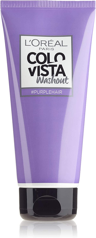 Loréal Colovista Colovista 2-Week-Wash-Out - Tinte temporal color púrpura (purplehair) número 5