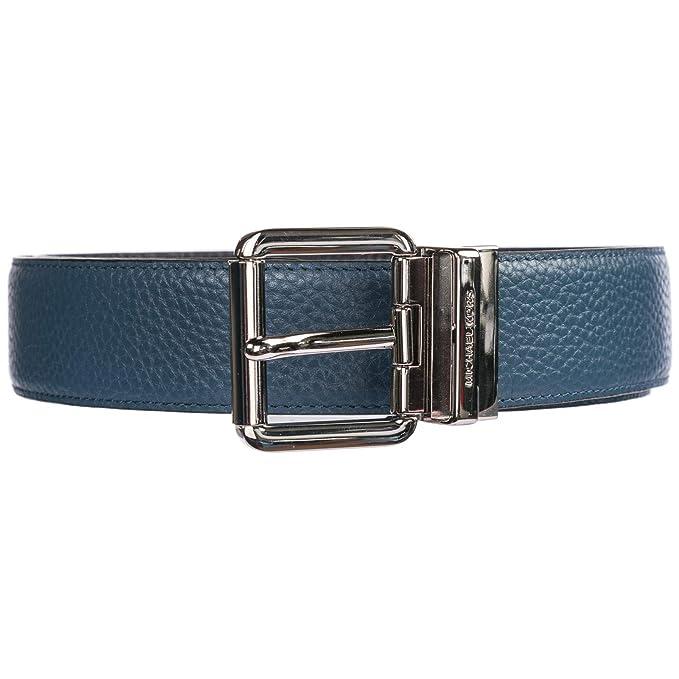 un'altra possibilità qualità classico Michael Kors cintura - uomo blu: Amazon.it: Abbigliamento