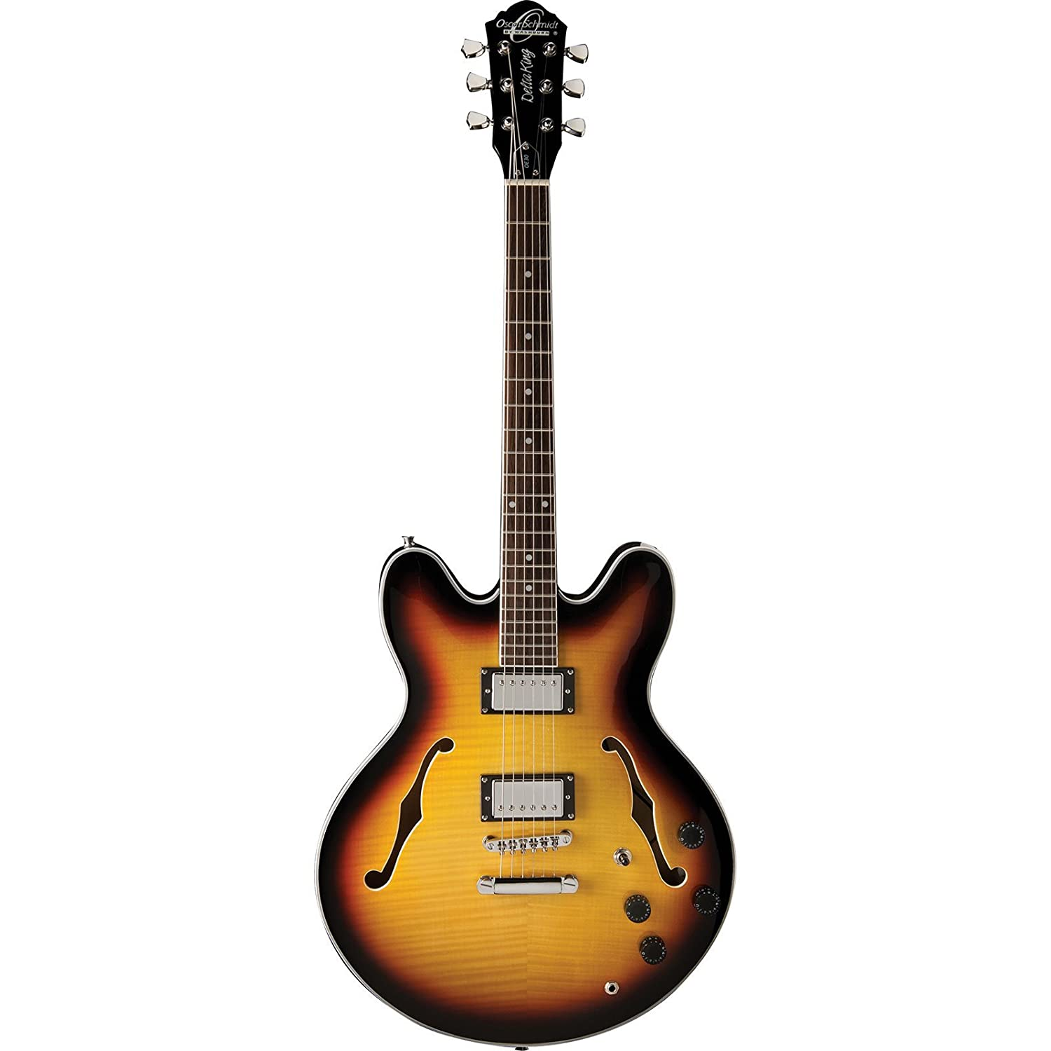 washburn oscar schmidt oe30 semi hollow body electric