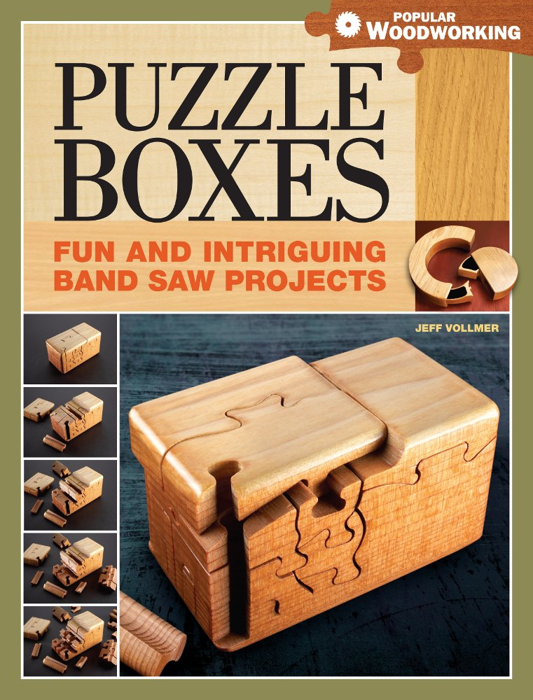 Puzzle Boxes: Fun and Intriguing Band Saw Projects