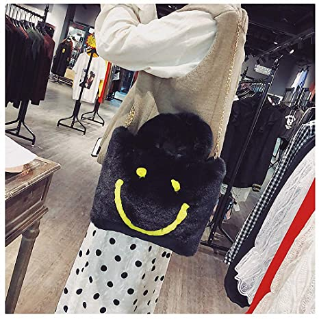 5f6d176c90 Womens Shoulder Bags Women Winter Faux Fur Handbag Fashion Furry Casual  Tote Bag Cute Plush Crossbody