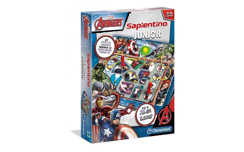 Clementoni Sapientino Junior - Juego (versión italiana) Avengers: Amazon.es: Juguetes y juegos