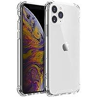 Shamo's iPhone 11 PRO Case Clear Reinforced Edges TPU Bumper Anti-Scratch Shock Proof Cover