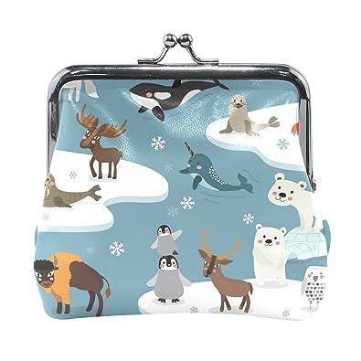 ahomy cartoon cute arctic animals seal fox penguin moose bear pu