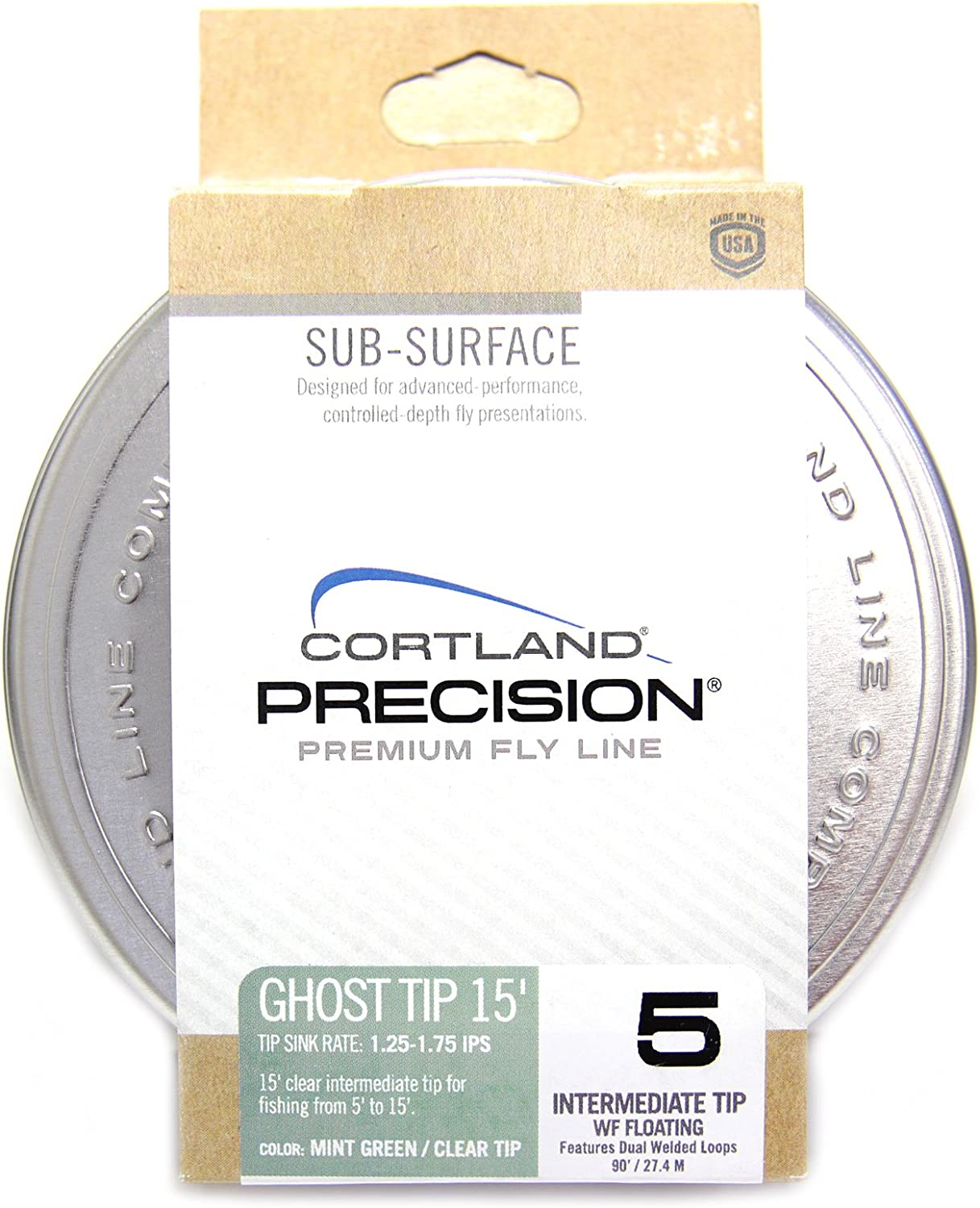Cortland Precision 15/' Ghost Tip Fly Line