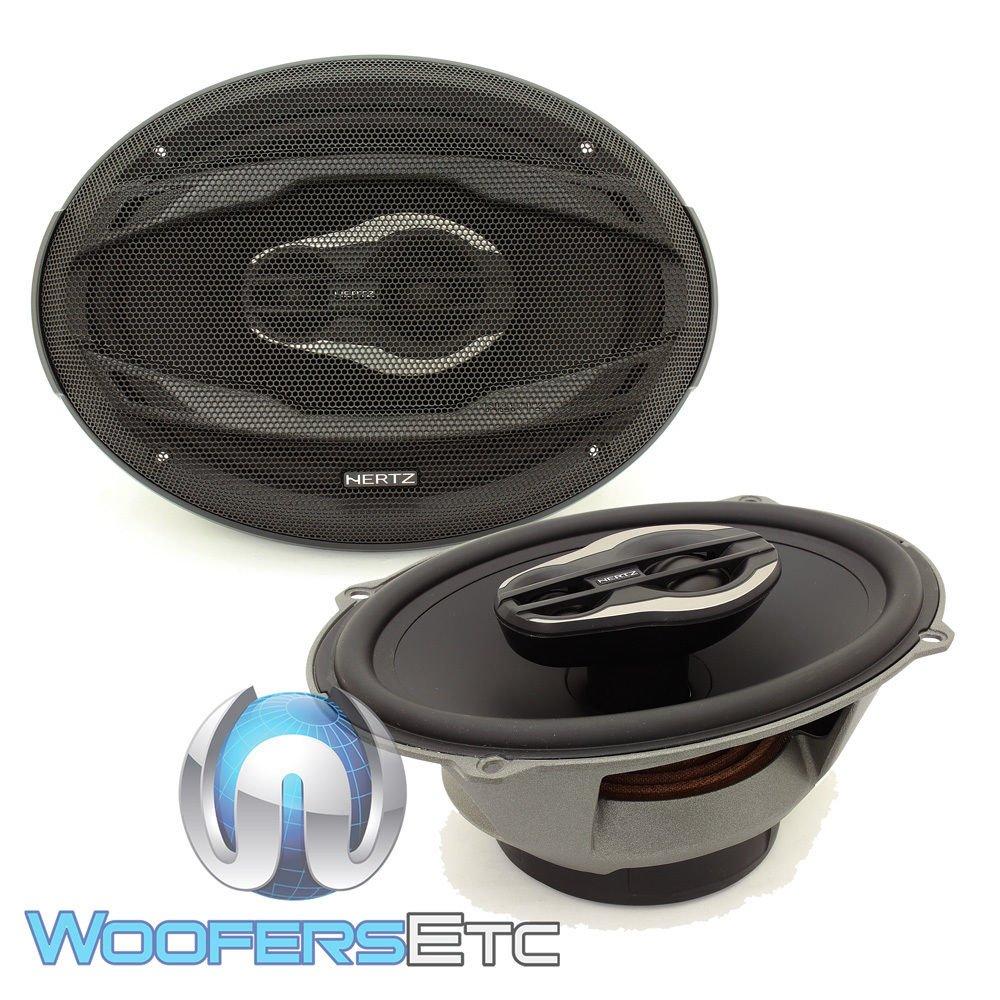 Hertz MPX690.3 Pro 6'' x 9'' 130 Watts RMS 3-Way Coaxial Speakers