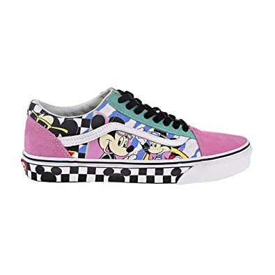 2387a54409 Vans Disney Old Skool 80 s Mickey Trainers-UK 11  Amazon.co.uk ...