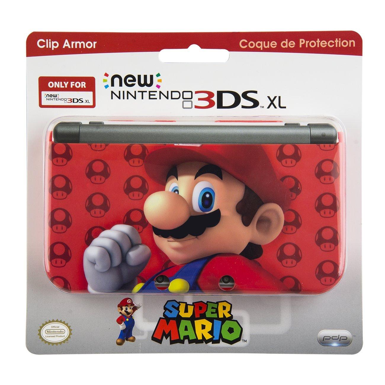PDP - Cubierta Super Mario, Color Rojo (New Nintendo 3DS XL ...