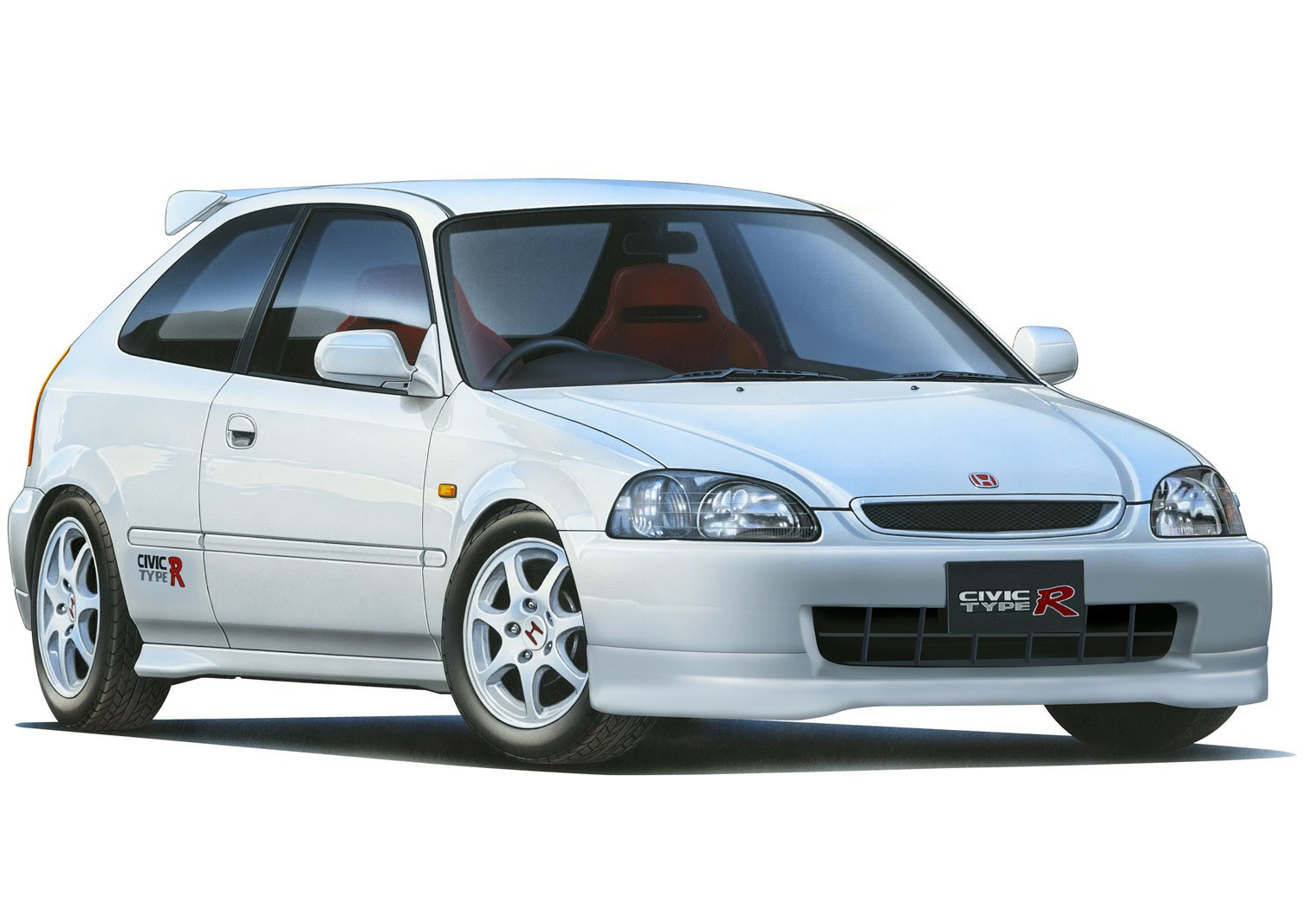 Fujimi ID-15 Civic Type R (EK9) Early Model 1/24 Scale kit