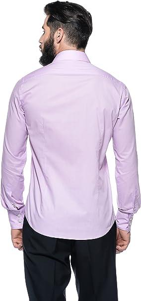Romeo Gigli Milano Camisa Lila ES 45: Amazon.es: Ropa y ...