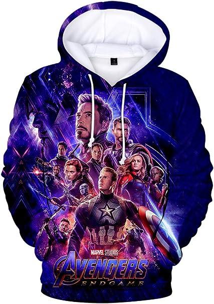 Hawkeye Logo Avengers Superhero Inspired Kids Zip Up Hoodie Unisex