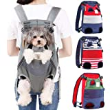 Jranter Dog Carrier Backpack - Legs Out Front-Facing Pet Carrier Backpack for Small Medium Large Dogs, Airline Approved…