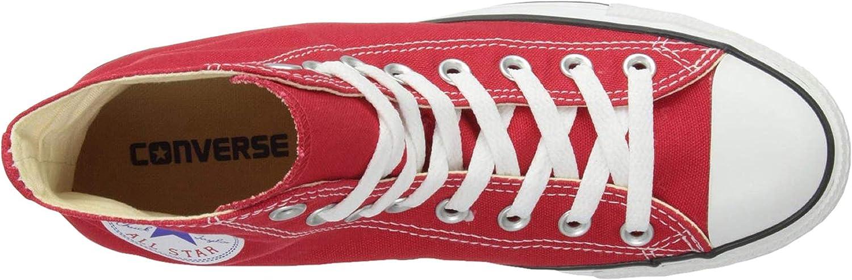 Converse CTAS Hi Basket Femme Rouge et Rouge