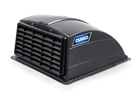 Camco Standard Roof Vent Cover, Opens for Easy Cleaning, Aerodynamic  Design, Easily Mounts to RV with Included Hardware-Smoke (40453)