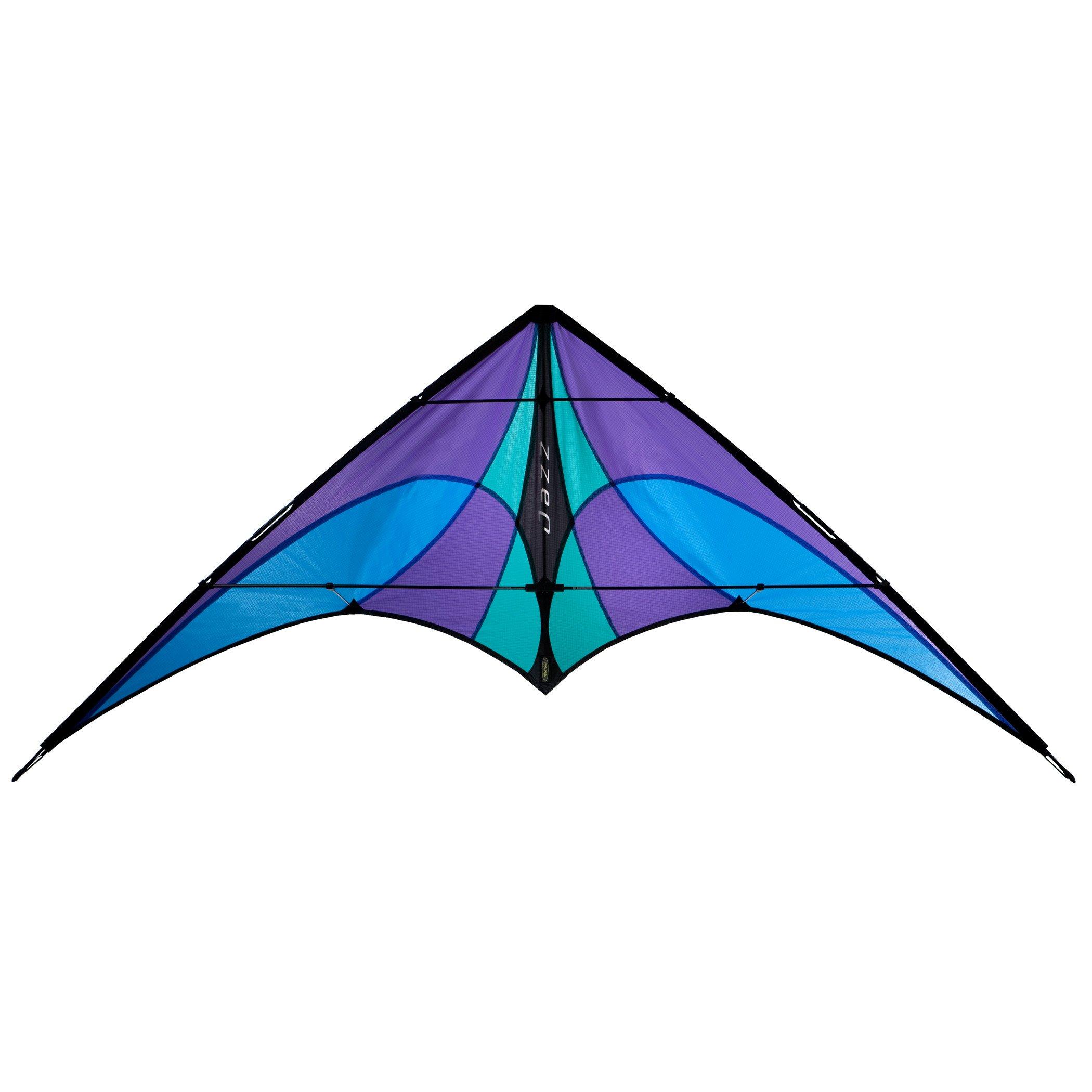 Prism Jazz Dual-line Stunt Kite, Ice by Prism Kite Technology