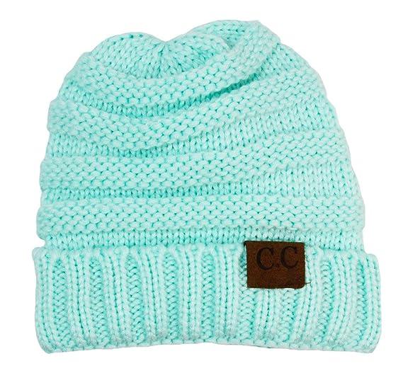 Amazon.com  Wholesale Princess Girls Crochet CC Beanie - Aqua  Clothing 70813d74154