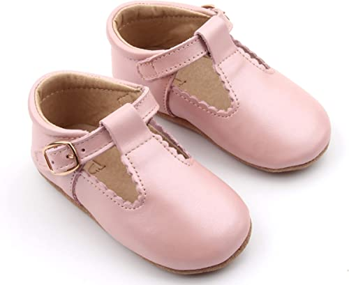 New Infant//Toddler Girls Genuine Leather Mary Jane Size   3 ~ 8