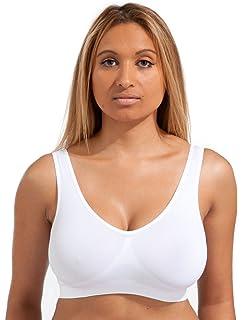 All Woman Plus Size Pull-Over Comfort-Sleep Bra UK XXXL Size 38B 56EE