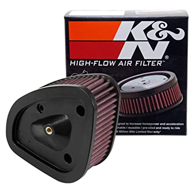 K&N Engine Air Filter: High Performance, Premium, Powersport Air Filter: 2020-2020 HARLEY DAVIDSON (Road King, Electra Glide, Ultra, Classic, Tri Glide, Limited, Low, and other select models) HD-1717: Automotive