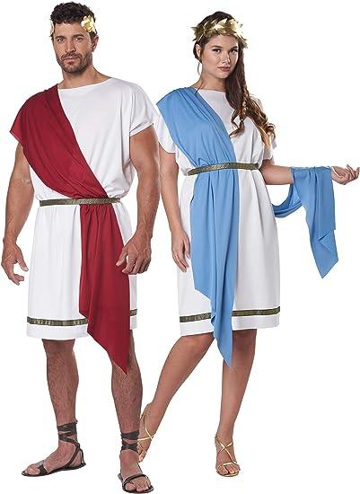 Brand New Caesar Greek Toga Adult Halloween Costume