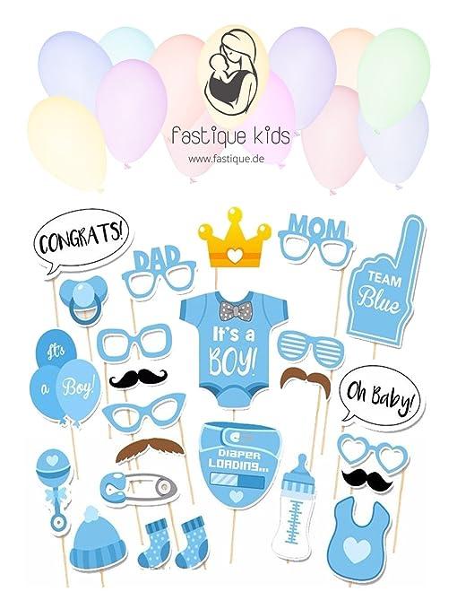 Baby Shower – Requisiten fotográfico fastique Kids fotográfico accesorios para recién nacidos Niñas – 25 –