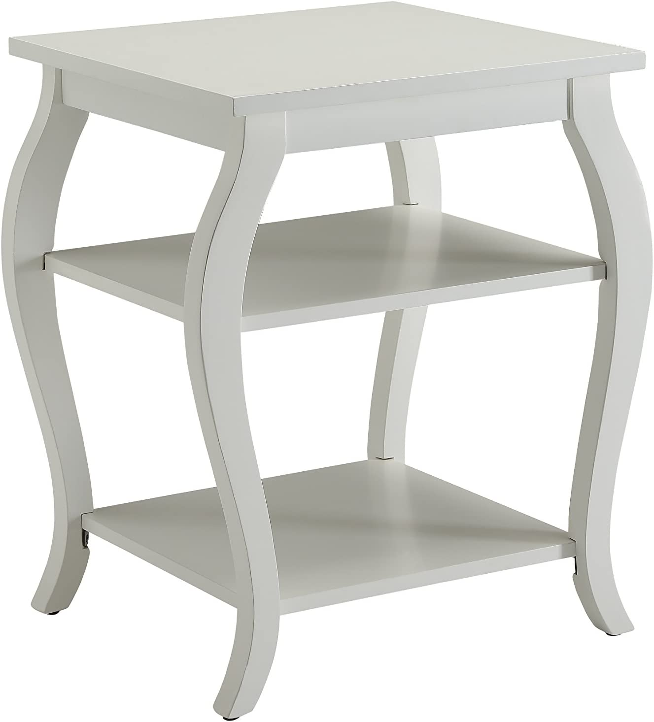 ACME Furniture 82828 Becci End Table, One Size, White