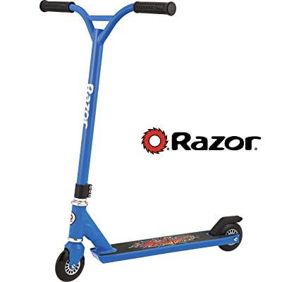 Razor Beast Kick Scooter - Blue: Sports & Outdoors