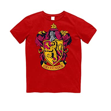 Amazon Com Harry Potter Childrens Kids Gryffindor T Shirt Clothing