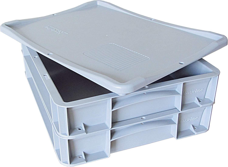 1 Pizzaballenbehälter Transportbox Pizzateigwanne Gastrobox 60x40x7 Gastlando