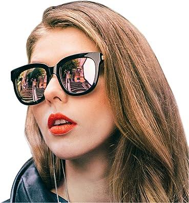 6 Pack Variety Lot Round Fashionable Trendy Women Oversize Sunglasses