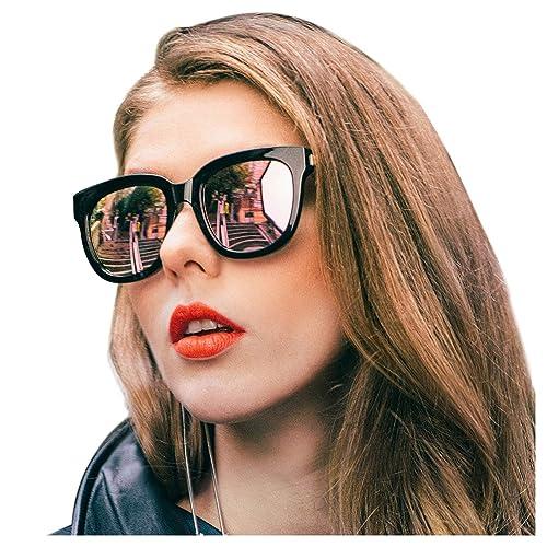 Amazon.com: Siphew - Gafas de sol polarizadas con efecto ...
