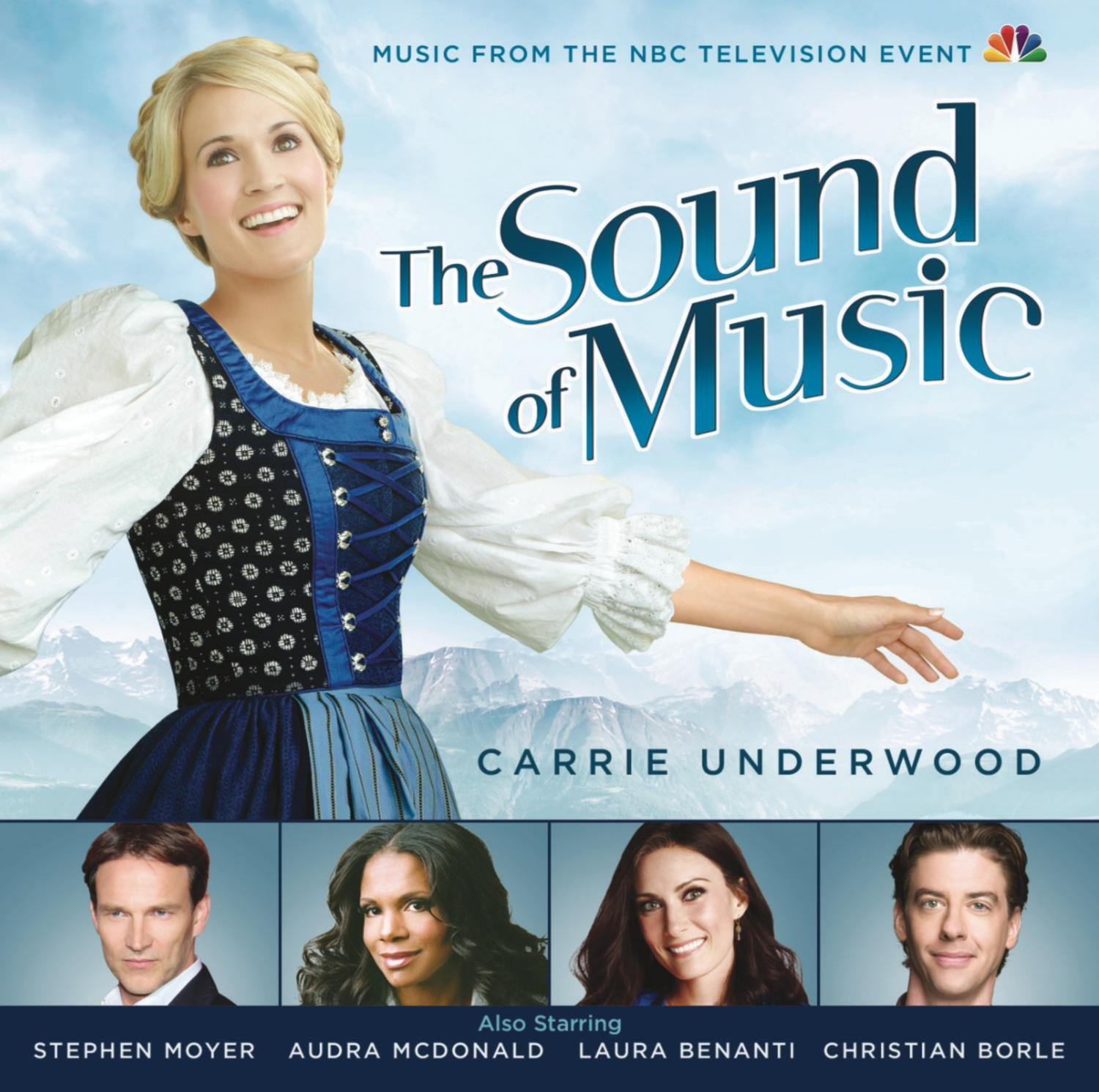 CD : Carrie Underwood - The Sound of Music Live! (Original Soundtrack) (CD)