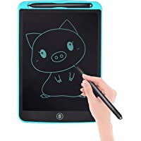 proffisy 2019 Upgraded Electronic LCD Writing Tablet, Doodle and Scribble Board with Magnetic Memo Notes Comes with 2 Magnet for Kids and Adults for Home, School, Screen 8.5 Inch